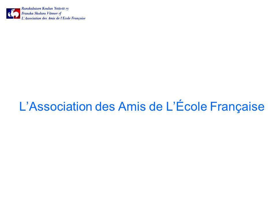 LAssociation des Amis de LÉcole Française