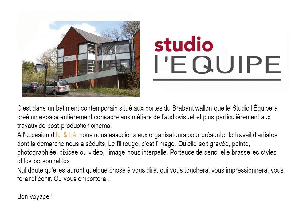 Cest dans un bâtiment contemporain situé aux portes du Brabant wallon que le Studio lÉquipe a créé un espace entièrement consacré aux métiers de laudi