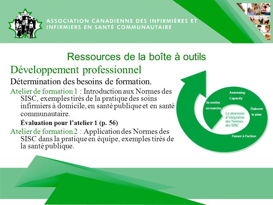 Ressources de la boîte à outils Développement professionnel Détermination des besoins de formation.