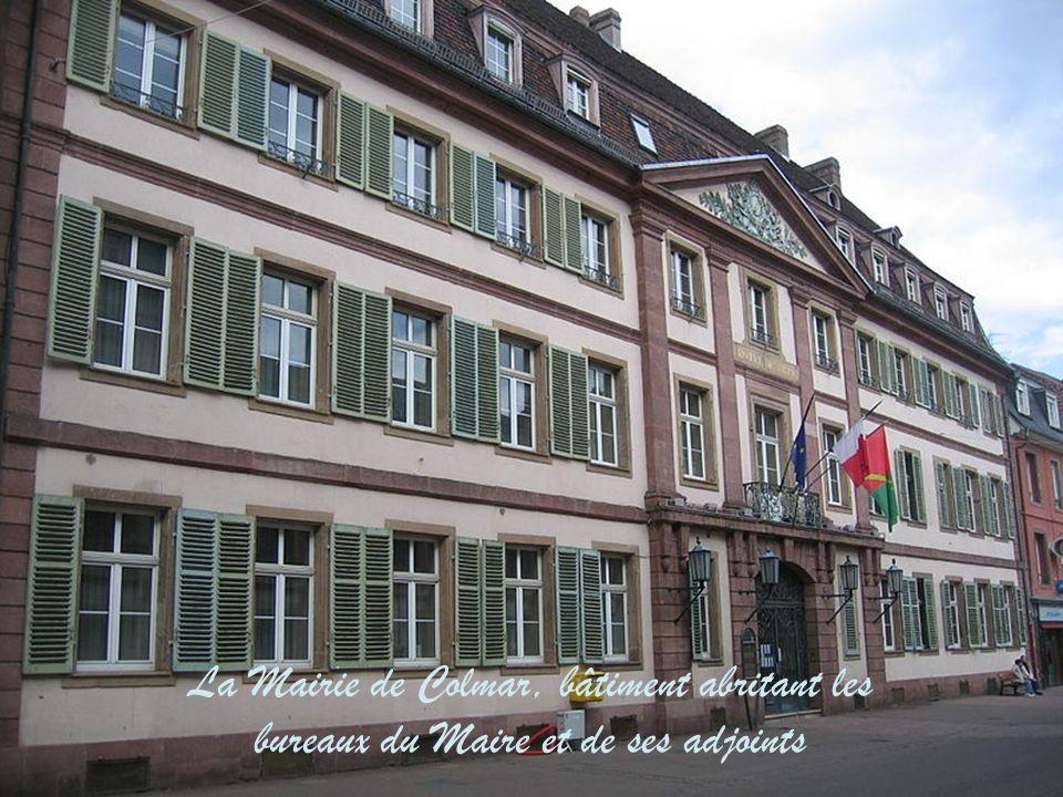 La Mairie de Colmar, bâtiment des services administratifs et techniques