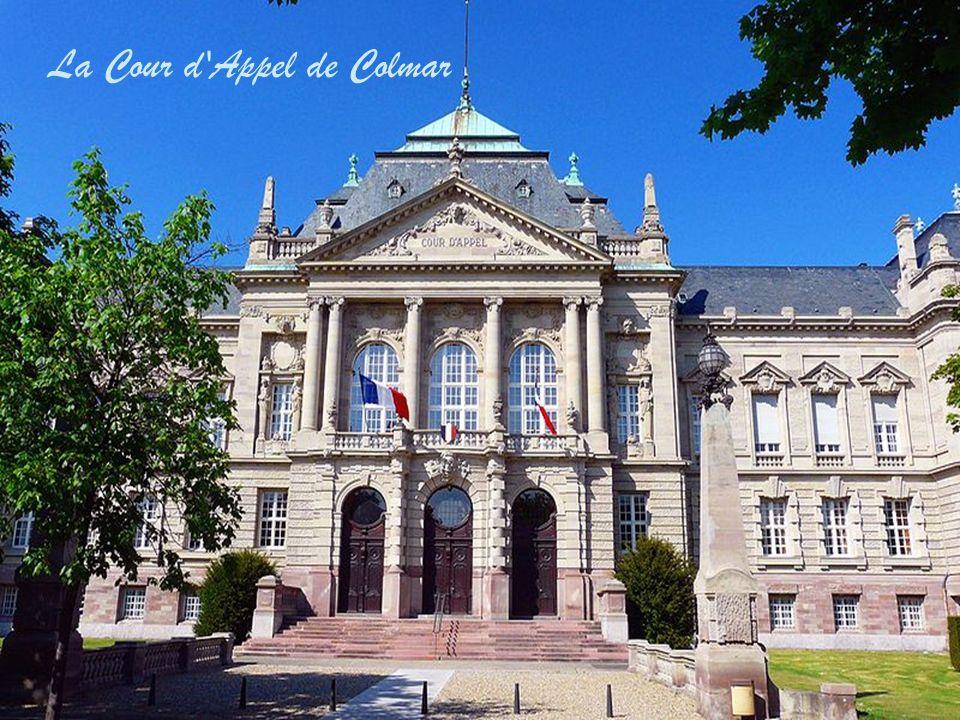 La Mairie de Colmar, bâtiment abritant les bureaux du Maire et de ses adjoints