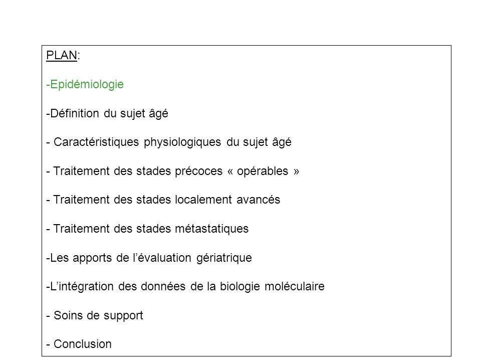 ECOG Trial 4599: Carbo-Txl vs Carbo-Tax+Avastin (15 mg/kg) Ramalingan JCO Jan 2008 70 ans<70 ansp Neutro G IV 34 %22 %0.02 Melena Saignements digestifs 3.5 %0.9 %0.005 Protéinurie 7.9 %1.3 %0.001 Neuropathie 3.5 %0.6 %0.05 Grade III-IV 87 %70 %< 0.001