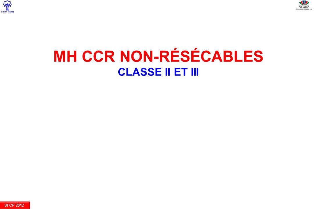 SFCP 2012 MH CCR NON-RÉSÉCABLES CLASSE II ET III
