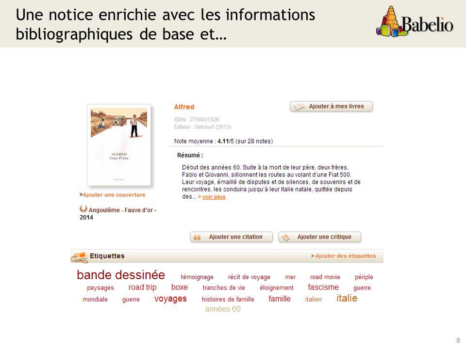 39 Un catalogue sans Babelthèque
