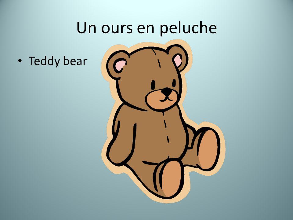 Un ours en peluche Teddy bear