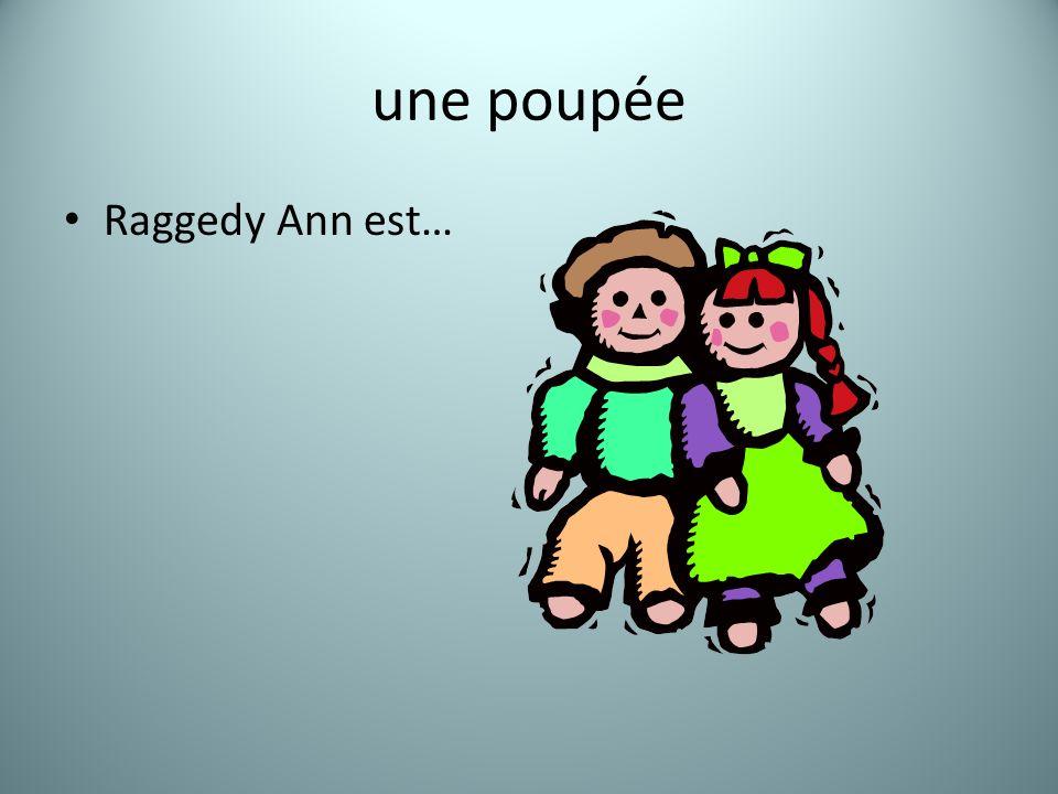 une poupée Raggedy Ann est…