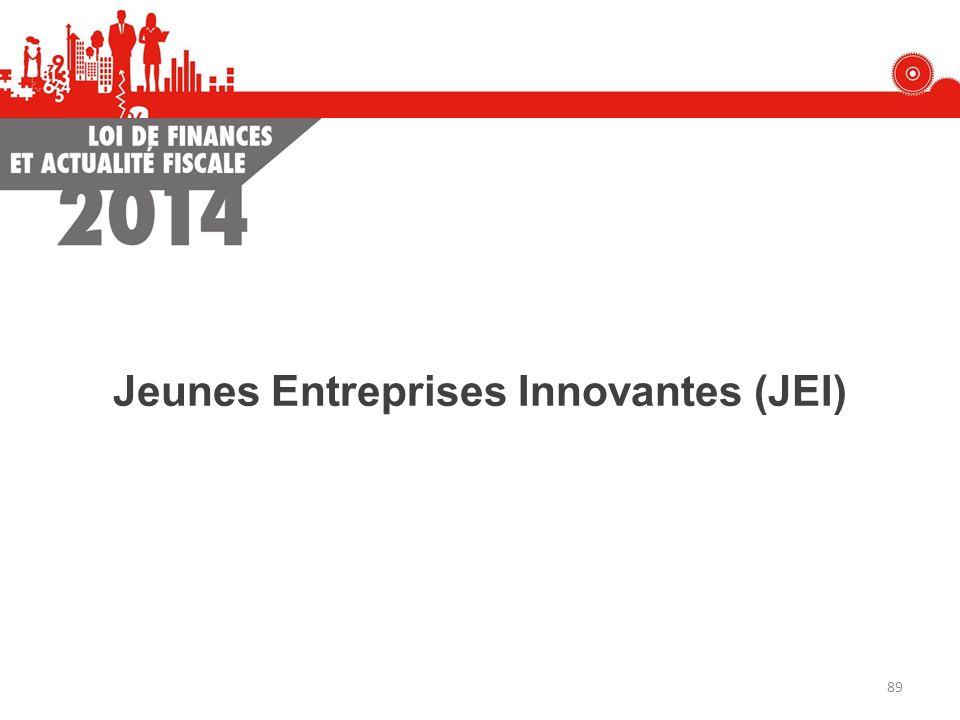 Jeunes Entreprises Innovantes (JEI) 89