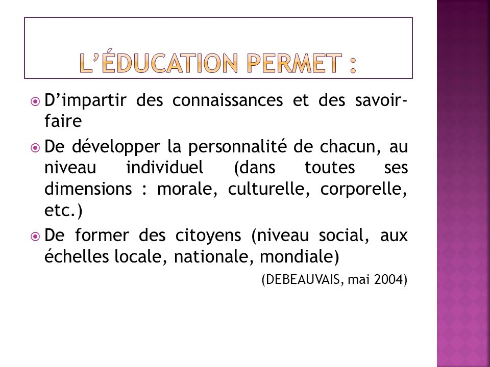 Bibliographie (suite) Nations Unies, 4-15 septembre 1995.