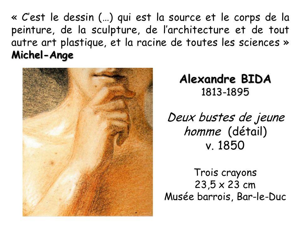 Michel-Ange « Cest le dessin (…) qui est la source et le corps de la peinture, de la sculpture, de larchitecture et de tout autre art plastique, et la