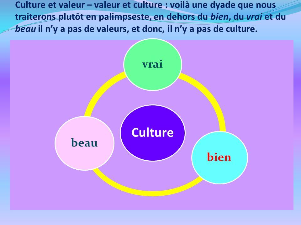 La circulation transfrontalière et transnationale des valeurs culturelles assure leur universalité et leur pérennité.