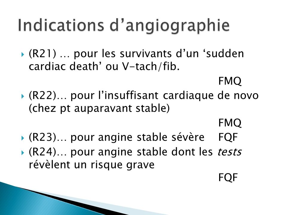 (R21) … pour les survivants dun sudden cardiac death ou V-tach/fib.