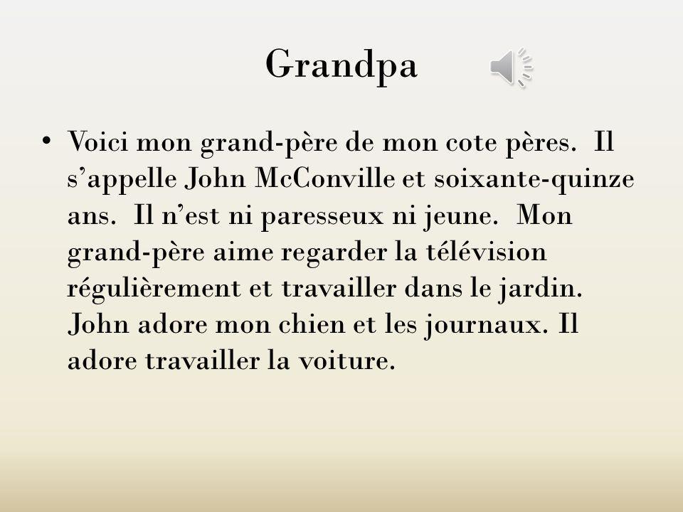 John McConville (Grandpa)