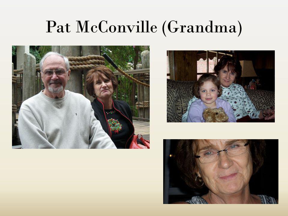 Grandpa Voici mon grand-père de mon cote pères. Il sappelle John McConville et soixante-quinze ans.