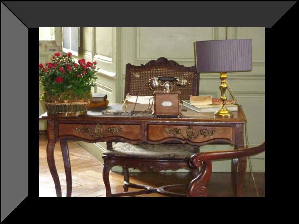 Le cabinet de travail était le lieu privilégie de Joachim carvallo