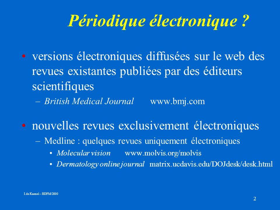 2 Périodique électronique .