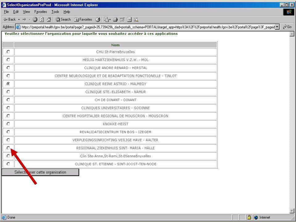 SPF SANTE PUBLIQUE, SECURITE DE LA CHAINE ALIMENTAIRE ET ENVIRONNEMENT 13 février 2008 10
