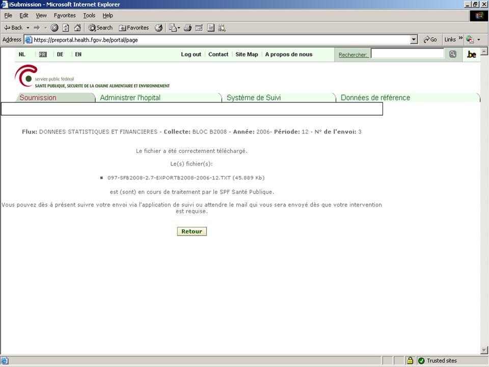 SPF SANTE PUBLIQUE, SECURITE DE LA CHAINE ALIMENTAIRE ET ENVIRONNEMENT 13 février 2008 32
