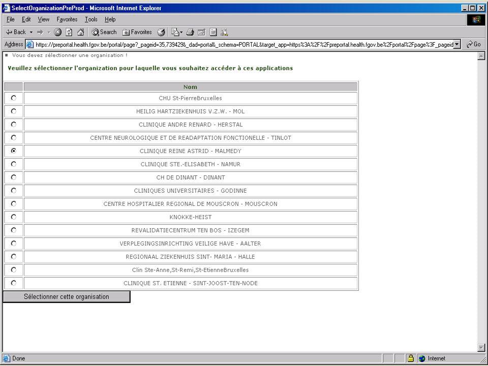 SPF SANTE PUBLIQUE, SECURITE DE LA CHAINE ALIMENTAIRE ET ENVIRONNEMENT 13 février 2008 34
