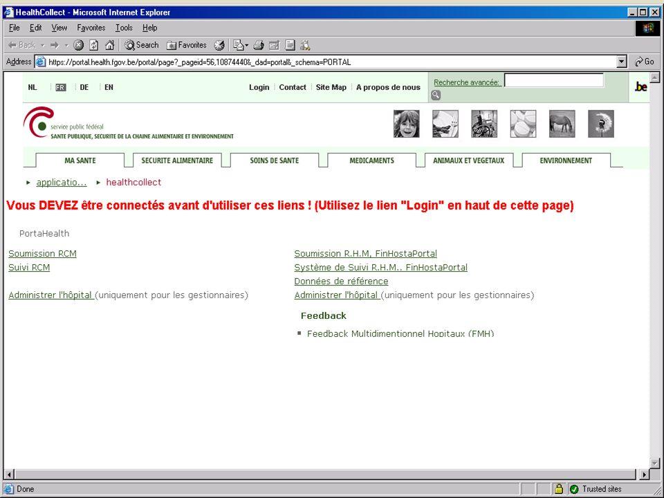 SPF SANTE PUBLIQUE, SECURITE DE LA CHAINE ALIMENTAIRE ET ENVIRONNEMENT 13 février 2008 5