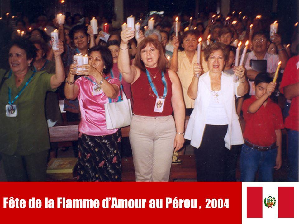 19 Fête de la Flamme dAmour au Pérou, 2004