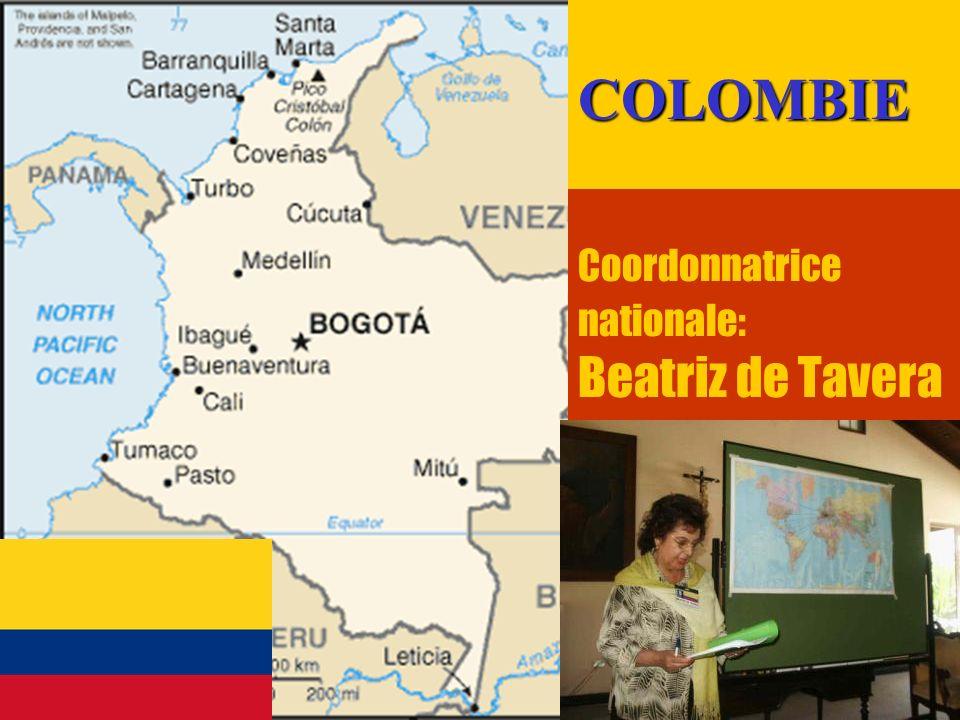 22 Coordonnatrice nationale: Beatriz de TaveraCOLOMBIE