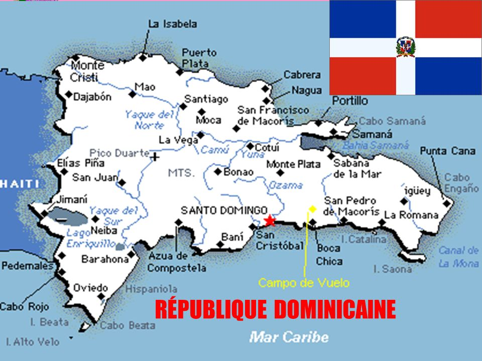 30 RÉPUBLIQUE DOMINICAINE
