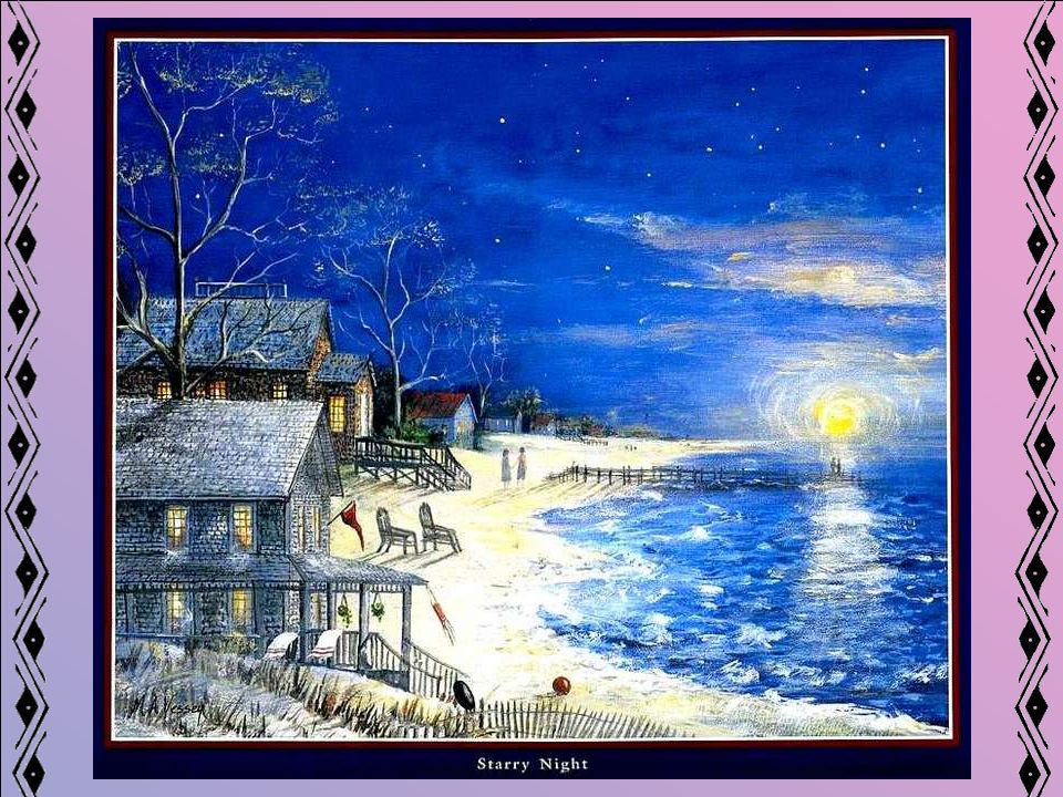 Images : Peintures de Mary Ann Vessy, trouvées sur le Net, apparemment libres de droit.