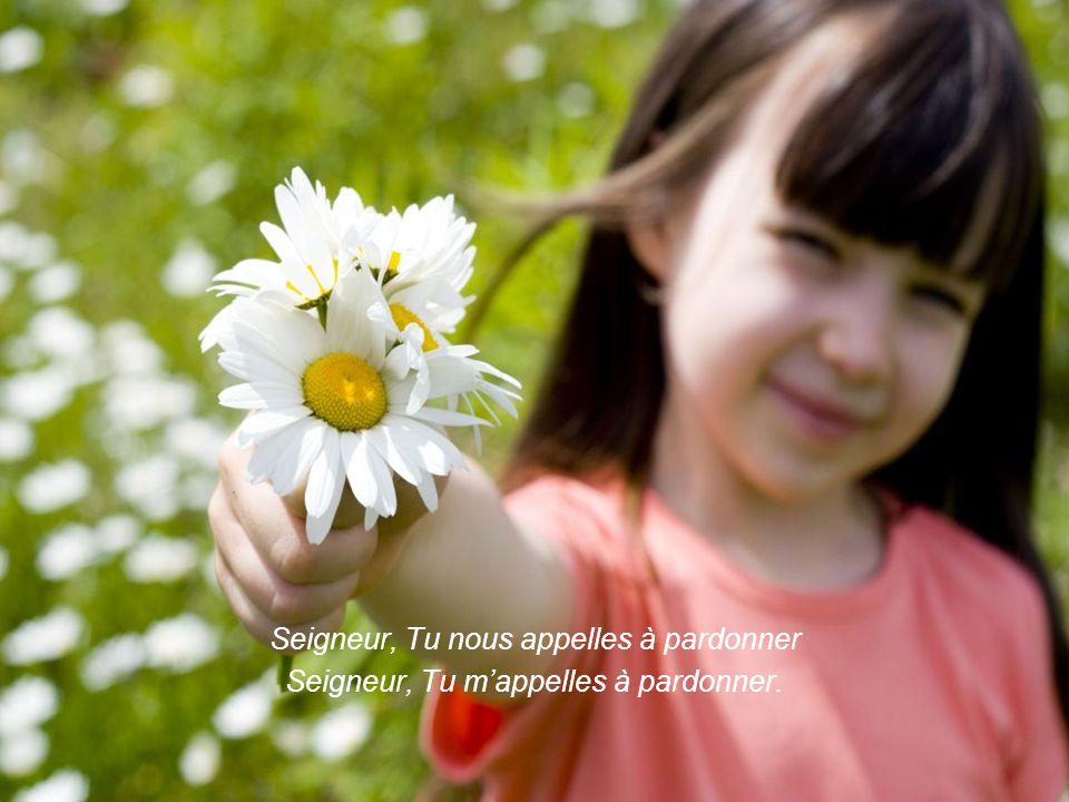 A devenir artisans de paix par nos vies et nos paroles Et que nos bouches soient des instruments de ton pardon.