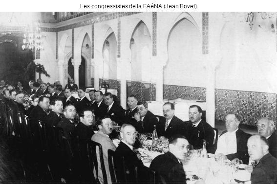 Les congressistes de la FAéNA (Jean Bovet)