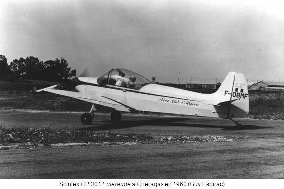 Scintex CP 301 Emeraude à Chéragas en 1960 (Guy Espirac)