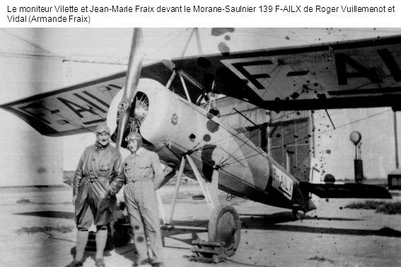 Jean-Marie Fraix, premier breveté pilote davions de tourisme dAlgérie (Armande Fraix)