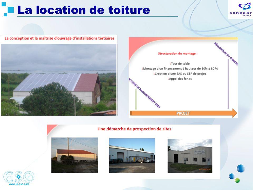 La location de toiture
