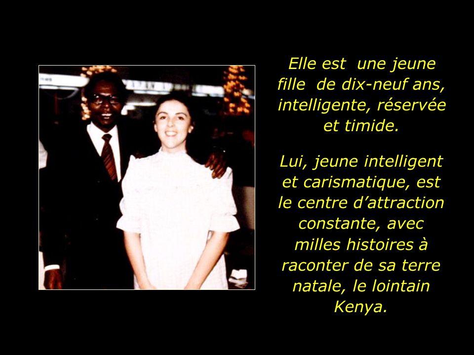 Ann rencontre un étudiant africain venu aux Etats - Unis dans un programme déchange.