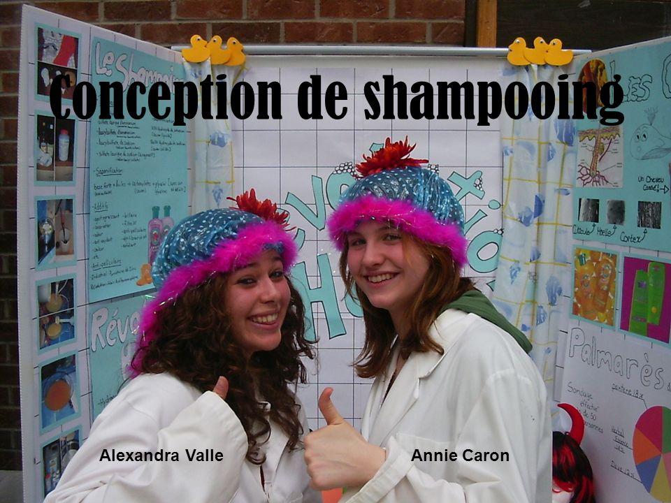 Conception de shampooing Alexandra ValleAnnie Caron