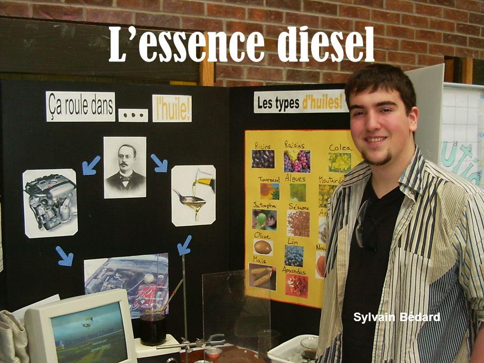 Lessence diesel Sylvain Bédard