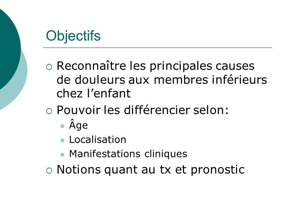 Cas clinique 1 Tumorales : Leucémie: LLA surtout (75%) T21 : 15x plus prévalent Douleur causée par envahissement de la moelle osseuse production insuffisante des cellules sanguines autres tissus:adénopathies, hépatosplénomégalie, sx neuro surveiller les testicules/méninges sx généraux Neuroblastome Tumeur la plus fréq chez lenfant de moins de 1 an Surénale(45%) Chaîne sympathique >50% métastatique au moment du dx (os ou moelle osseuse)