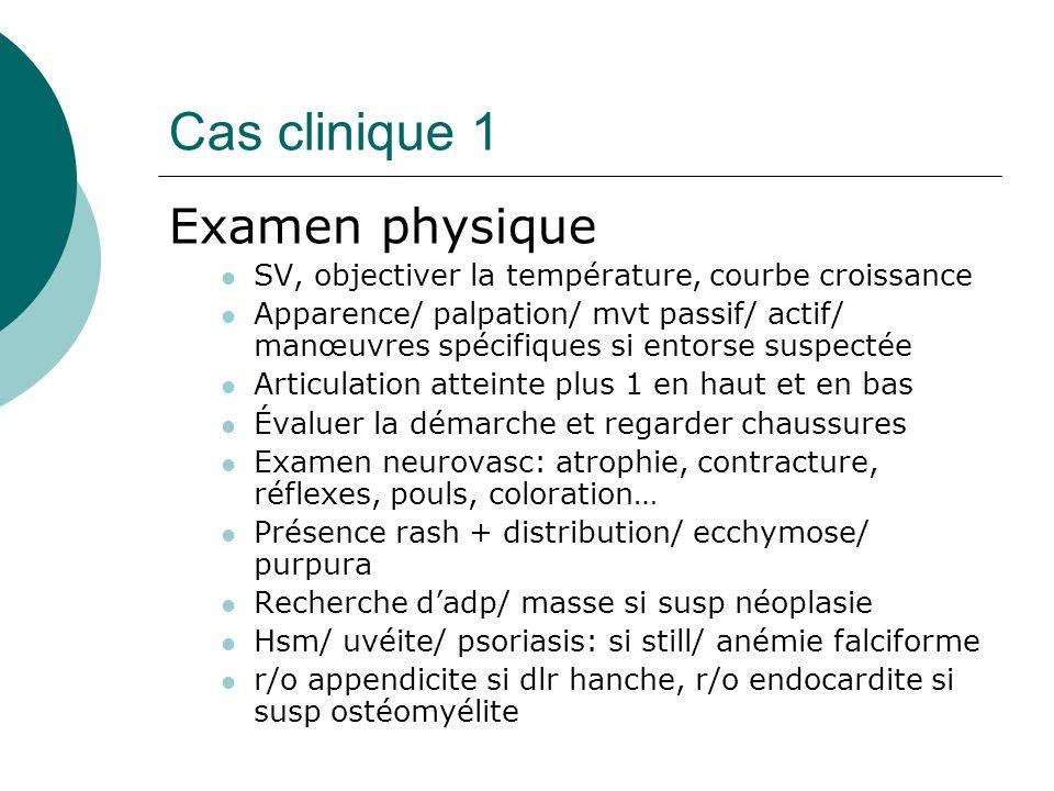 Cas clinique 1 Radiographie normale Scinti technitium négative Scinti gallium: myélite fémur droit Donc atbx iv ( ancef) x 4-6 semaines