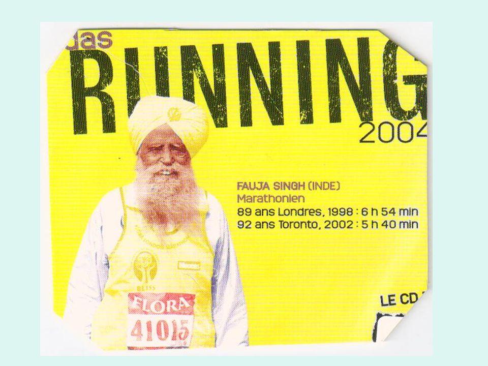 à 30 ans … …. Age dor du coureur Condition physique au top Marathon +++ ( oui aux distances inf. )