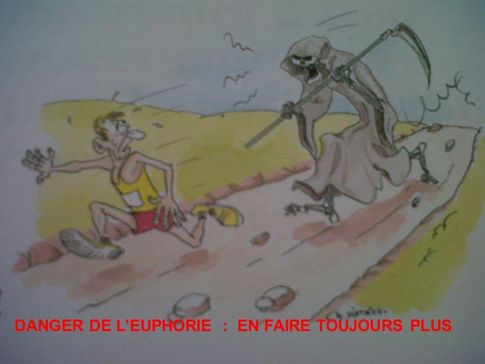 DANGER DE LEUPHORIE : EN FAIRE TOUJOURS PLUS