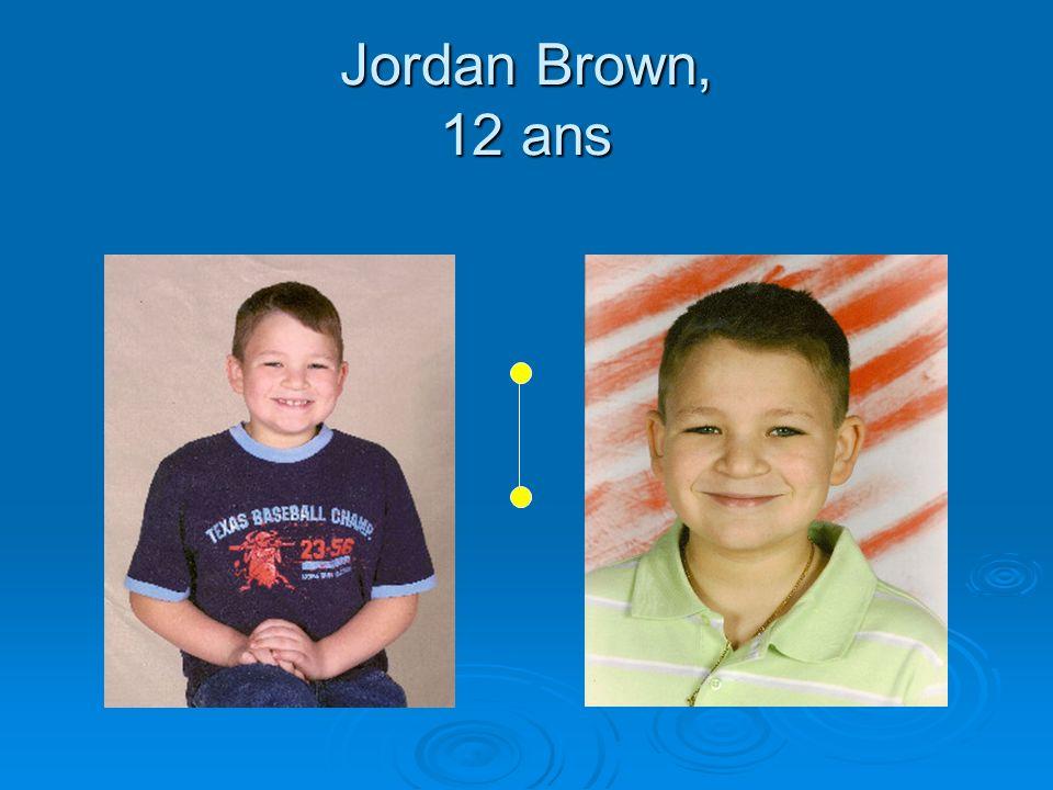 Jordan Brown, 12 ans