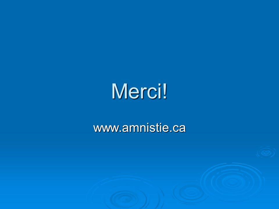 Merci! www.amnistie.ca