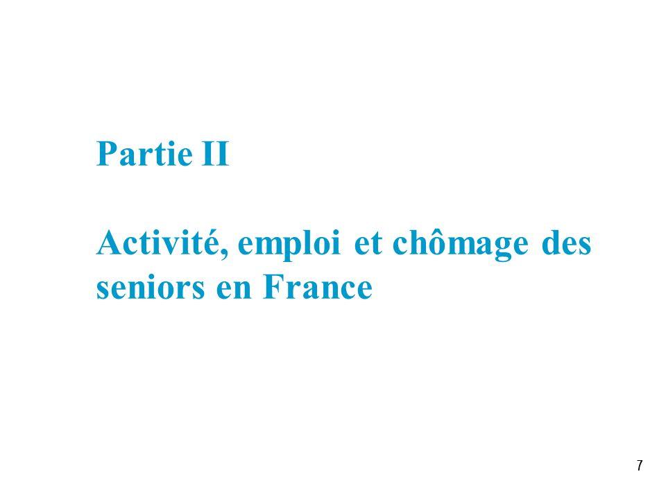 777 Partie II Activité, emploi et chômage des seniors en France