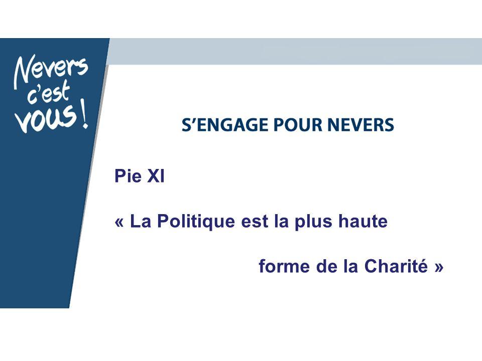 Pie XI « La Politique est la plus haute forme de la Charité »