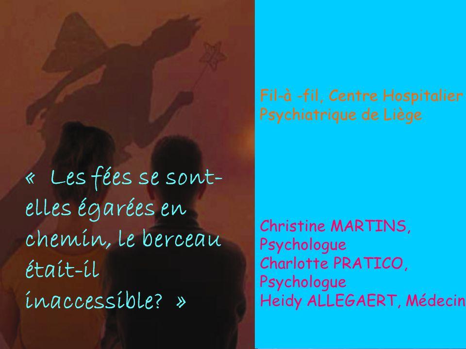 Lara 4 mois 12 ans 29 ans 28 ans Schizophr è ne Présentation « Fil-à-Fil »