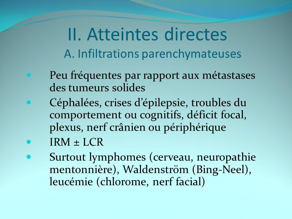 II.Atteintes directes A.