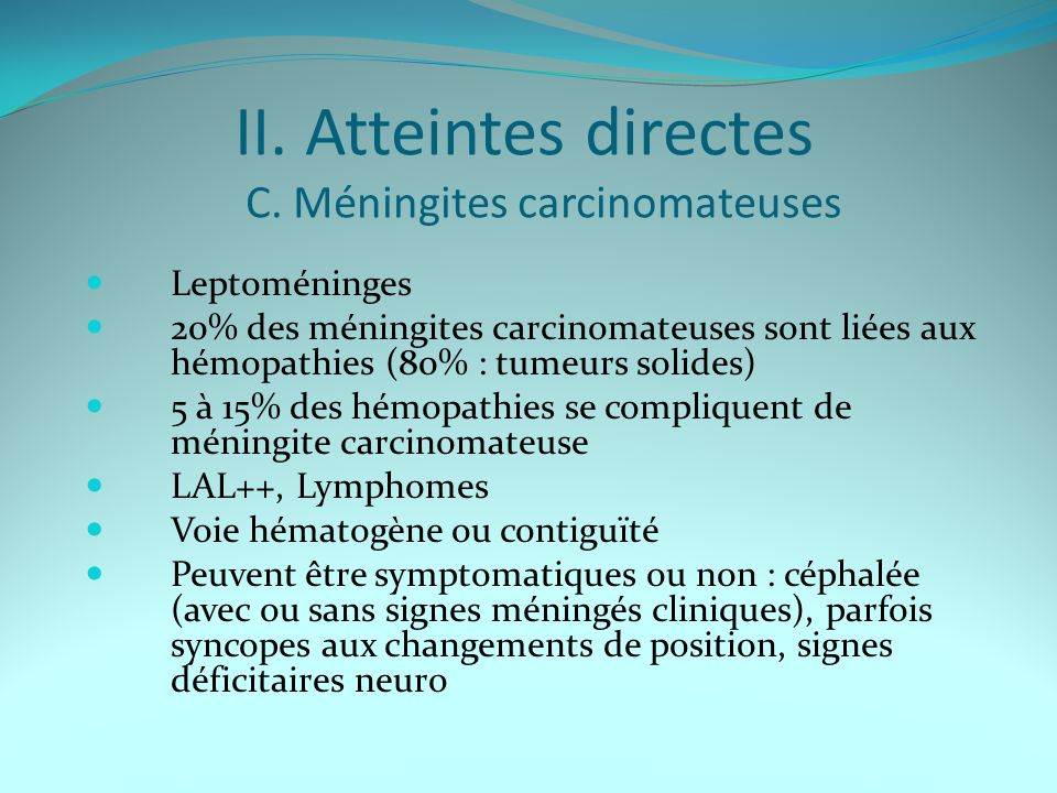 II.Atteintes directes C.