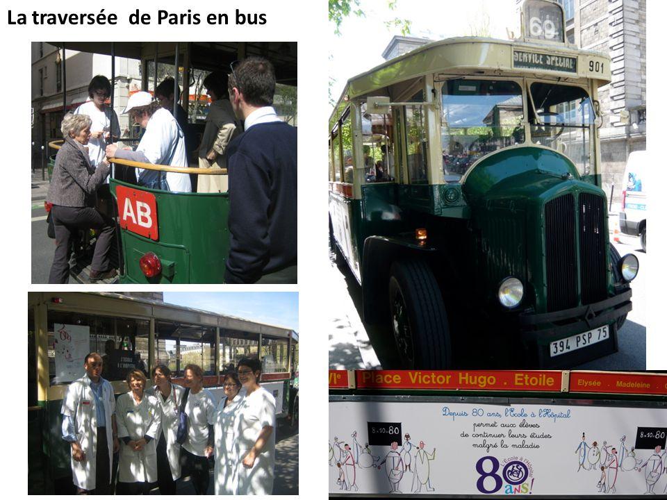 La traversée de Paris en bus