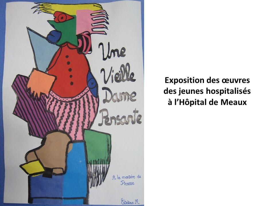 Exposition des œuvres des jeunes hospitalisés à lHôpital de Meaux