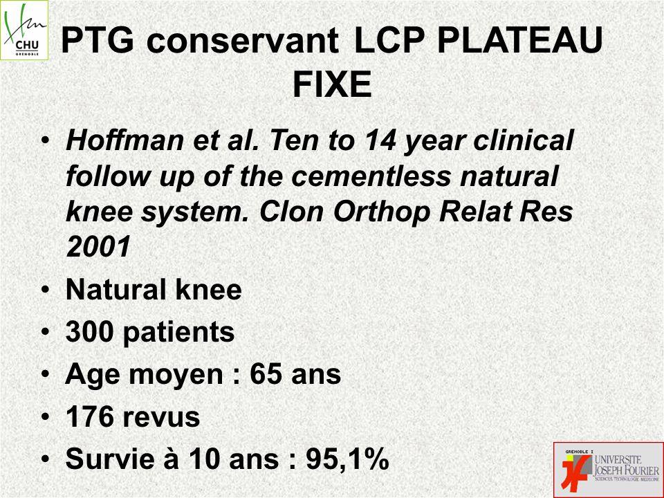 Bistolfi.Endo-Modell rotating-hinge total knee for revision total knee arthroplasty.