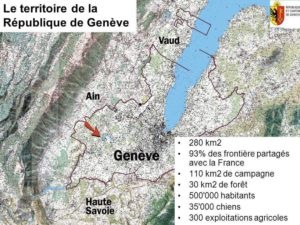 17.05.2014 - Page 3 Département du Territoire Domaine Nature et Paysage Inspection de la Faune et de la Pêche Le territoire de la République de Genève